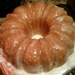 Lemon-Buttermilk Pound Cake with Aunt Evelyn's Lemon Glaze Recipe