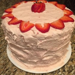Strawberry Cake II Recipe