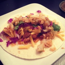 Korean Fusion Chicken Burrito Recipe