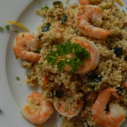 Shrimp and Vegetable Couscous  Recipe