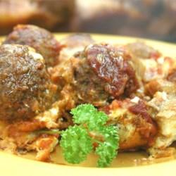 Italian Meatball Sandwich Casserole Recipe