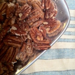 Spicy Glazed Pecans Recipe