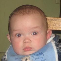 Ben; my grandson