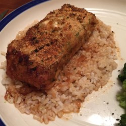 Parmesan Crusted Salmon Recipe