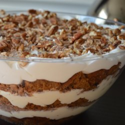 Easy Pumpkin Cream Trifle