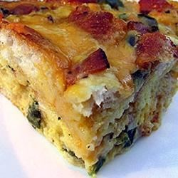 Cobb Breakfast Casserole Recipe