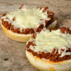 Pizza Burgers I Recipe