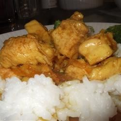 Orange Curried Chicken