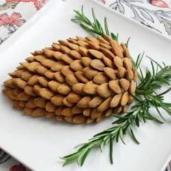 pine cone cheese ball printer friendly