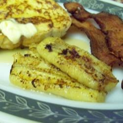 Bacon Fried Bananas