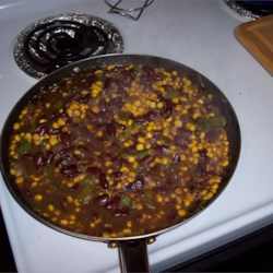 Kidney Beans and Corn Recipe