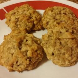 Coconut Oatmeal Cookies II Recipe