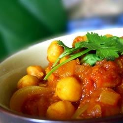 Cholay (Curried Chickpeas) Recipe