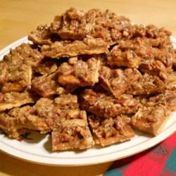Mary's Salted Caramel-Pecan Bars Recipe
