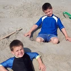 My Boys Connor and Aidan 2007