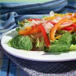 Tri-Pepper Salad Recipe