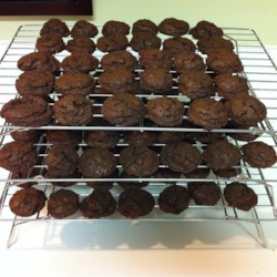 Double Chocolate Mint Cookies Recipe