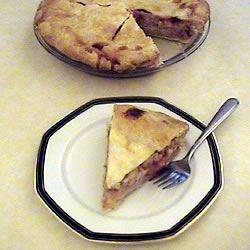 Strawberry Rhubarb Cream Pie Recipe