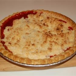 Photo of Rhubarb Crumble Pie by Christine