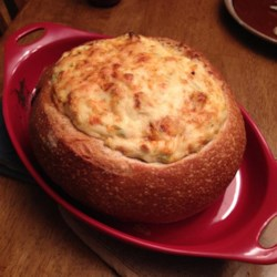 Baked Crab and Artichoke Dip