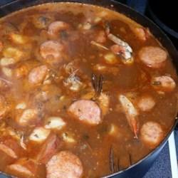 Seafood File Gumbo Recipe