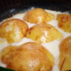 Creamy Baked Pears Recipe