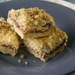 Raspberry Oatmeal Bars Recipe