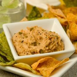 Spicy Three Pepper Hummus Recipe