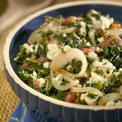 Spinach with a Twist Recipe