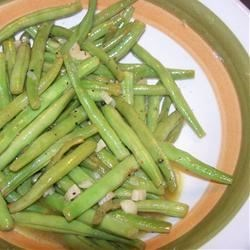 Zesty White Wine Green Beans Recipe