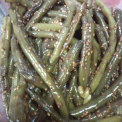 Sesame Seed Green Beans Recipe