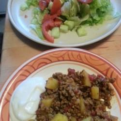 Keema Aloo (Ground Beef and Potatoes) Recipe