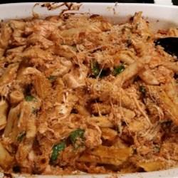 Pesto Chicken Penne Casserole Recipe