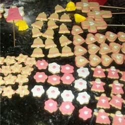 Christening cookies(girl)