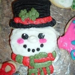 Photo of Christmas Cut-Out Cookies by Nancy