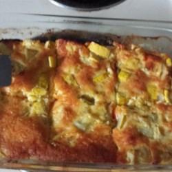 Squash, Egg, and Cheese Casserole Recipe