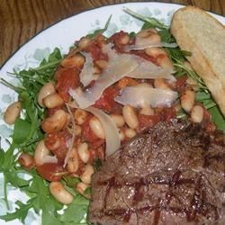 Arugula Salad with Cannellini Beans Recipe