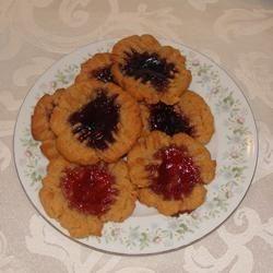 Yummy PB & J Cookies