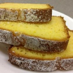 Easy Eggnog Pound Cake Recipe