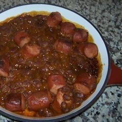 Beans-n-Franks Recipe