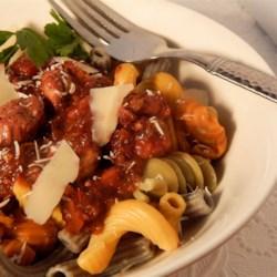 Foglie Chef Doogie's D'Autunno with Chicken and Portobella Mushrooms Recipe