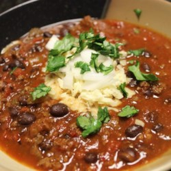 Venison Tequila Chili Recipe