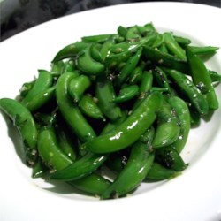 Sugar Snap Peas with Mint Recipe