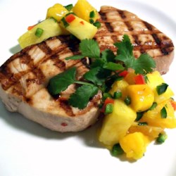 Citrus Swordfish With Citrus Salsa Recipe