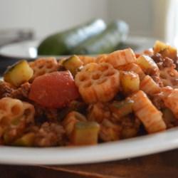 Debbie's Zucchini Skillet Dinner Recipe