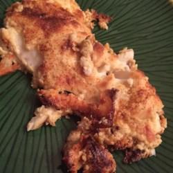 Garlic Parmesan Orange Roughy Recipe