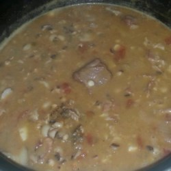 CB's Black Eyed Peas Recipe
