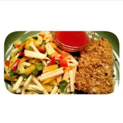 Utokia's Pecan Coconut Crusted Fish Recipe