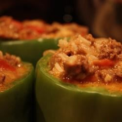 Stuffed Green Peppers