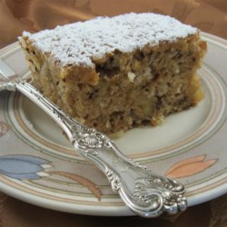 Walnut-Coconut-Applesauce Coffee Cake Recipe